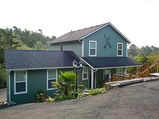 Bring the whole family for beach fun at this beautiful home with a hot tub!