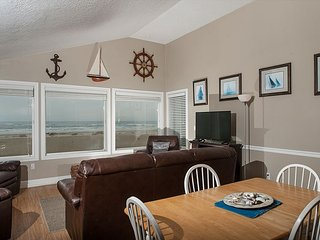 Discover this Waldport oceanfront home right in the sands of the Oregon coast