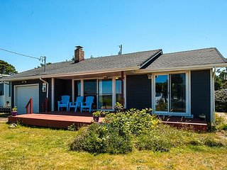 Miles of beach access just 10 feet from this beautiful ocean-view home1, Waldport
