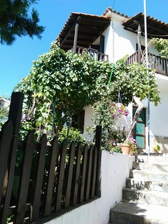 Traditional 3 bedroom cozy house with terrace and a garden in a quiet place., Kallirachi