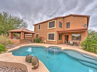 Phoenix Getaway w/ Private Pool, Spa, & Game Room!