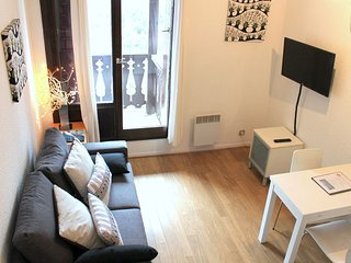 Forclaz 4B - One bedroom apartment with balcony facing the River Arve