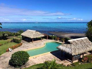 Appartement Tiapa - 2 chambres - bord de mer & piscine - 5 pers - Paea Tahiti -