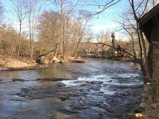 River Front 1 BR 1 BA Condo in Downtown Helen: Walk to Restaurants & Attractions