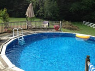BEAUTIFUL 3 BEDROOM ON PRIVATE 70 ACRE HORSE FARM WITH POOL
