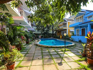 Goan Courtyard Studio Apartment Poolside (Perch)