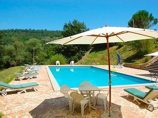 Casa Luciana private villa with private pool, walking distance of village., Lisciano Niccone
