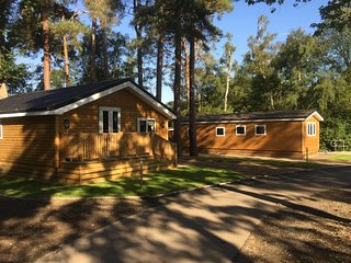 Beautiful three bedroom cabin located in woodland settings with large lake