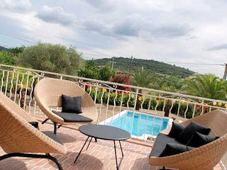 Gabian family villas in France with private pool sleeps 12