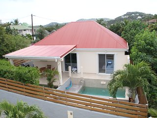 One Bedroom Brand New Villa Rose des Cayes  With Private Pool !!