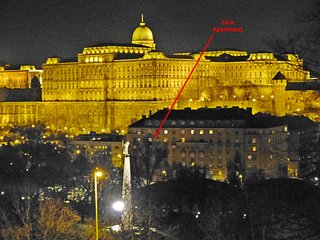 Stars and Lights Budapest - Castleside Apt. With Hill View