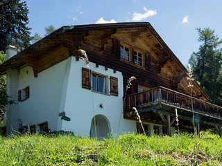 Ideal Swiss Chalet in the Heart of Verbier