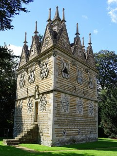 The Triangular lodge at Rushton.