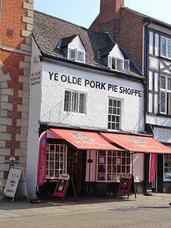Melton Mowbray Olde Pork Pie Shoppe.