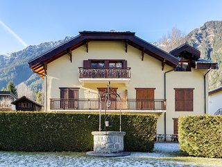 Apartment with View of the Mont-Blanc in the Heart of Chamonix