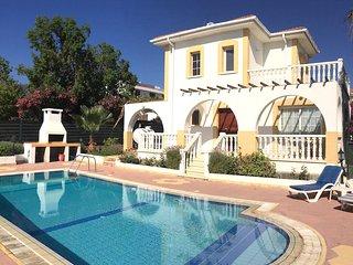 Villa Orange-Private Pool, Near Sandy Beach Restaurants & Shops, Alsancak - Karavas