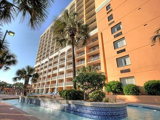 HUGE 1 BEDROOM DIRECT OCEANFRONT CONDO AT THE CARAVELLE RESORT! FREE WIFI!