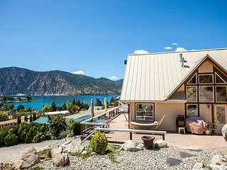 Manson Water View Home Huge Deck for Entertaining! by Sage Vacation Rentals