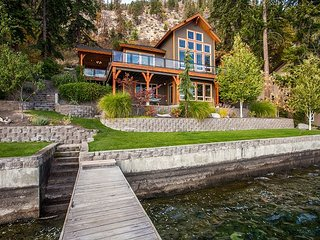 NEW- Gorgeous Craftsman Style Waterfront Home by Sage Vacation Rentals, Chelan