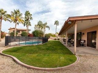 NEW! Serene 4BR Scottsdale House w/ Lush Backyard & Pool!