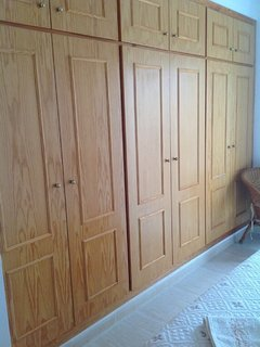 Double closets in each bedroom