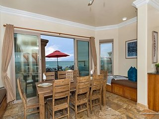 New12BR Oceanfront Home, rooftop decks, private spas, great views, A/C equip