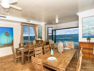 Oceanfront unit with 8br/ 8ba, rooftop decks, private spa, A/C Equipped