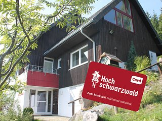 Fewo Titiseeblick, Hochschwarzwald-Card-gratis Ski
