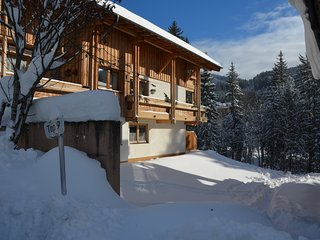 Beautiful apartment in spectacular mountain village close to ski lifts
