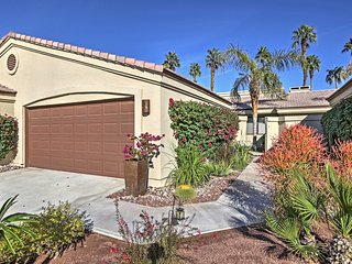 NEW! 2BR + Den Palm Desert Condo On Golf Course!