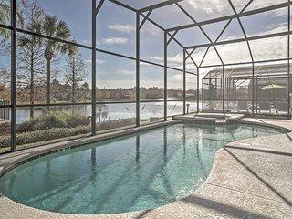 NEW! Dory's Lakeside Retreat - 6BR Kissimmee House w/Pool!