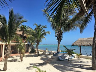 Casa Tortuga, Beautiful Beachfront 4bdrm Villa & pool, Soliman Bay, Tulum