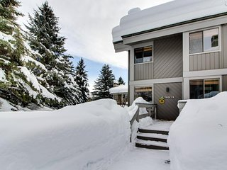 Mountain condo w/large deck & resort amenities including shared pool & hot tub, Sun Valley