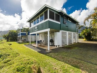 BE IN Hanalei & ON THE RIVER for a classic Kauai Experience! TVNC#4344