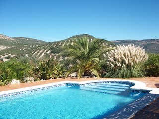 Cortijo Close To Spanish Village, Private Pool With Fabulous Views, Huetor Tajar