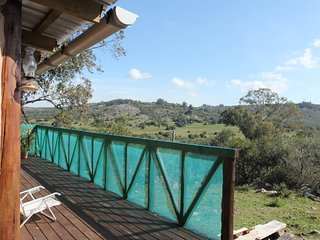 Hermosa, comoda y privada casa de adobe en las sierras de villa serrana