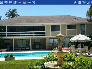 Luxury Home, Private Heated Pool, Magnificent views, Great Location, 3-D Theatre, Île de Sanibel