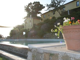 Panoramic Apartments in anciant rural villa, total relax and pool, Vinci