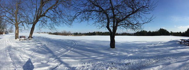 Enjoy the incredible winter views.