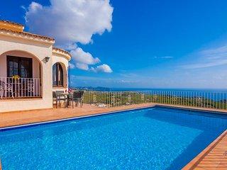 Villa Luc en Benissa,Alicante,para 6 huespedes