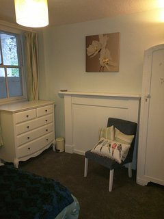 Ample storage in bedroom