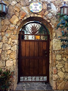 This gate brings you into the Villa de Vista with three complete homes.  Do you want 1 or 2 or 3!