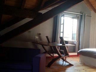 Studio de charme, écologique , tout confort, vue sur les montagnes., Bagnères-de-Bigorre