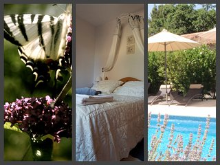 Luxury 4*  holiday apartment with pool - beautiful garden - Aups