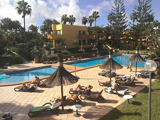 Private, Quiet, South facing, First floor Apartment , Atlantic Garden Corralejo,