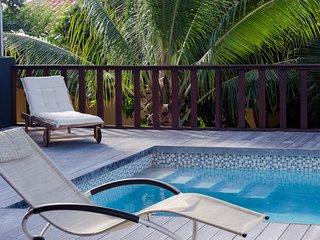 Beautiful modern villa with Seaview at resort Cas Abao (Villa Warawara)