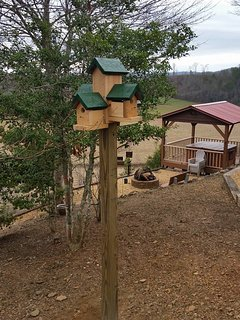 New Blue Bird House at the Nottley River Retreat