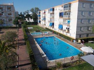 MATALSCAÑAS. Apart. 3 dorm. con piscina, Matalascanas