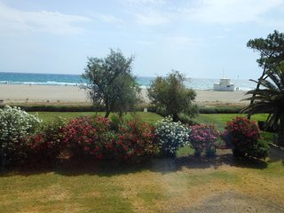 Superbe appartement face à la mer pour 4 personnes sud ouest ,15 km de collioure