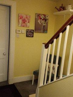 Beautiful and relacingain hallway